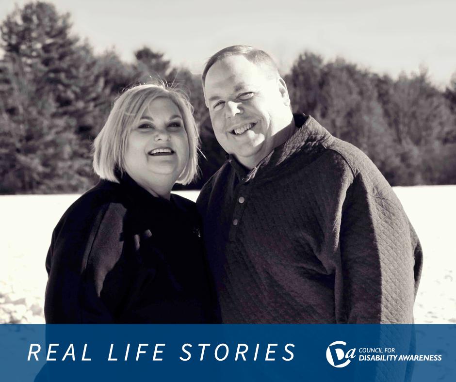 Portrait of Lisa Gohra and Dave Burke